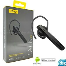 Jabra Talk 45 Bluetooth Headset - Black - Noise Cancelling