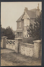 Unknown Location Postcard - RP of an Unlocated Large House RS7402