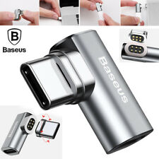 Baseus USB-C Type-C Fast Charging Magnetic Elbow Adapter Converter for MacBook
