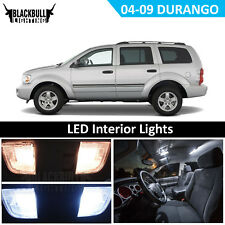 LED Interior Light Accesories Kit for 2004-2009 Dodge Durango fits MAP DOME 7 PC