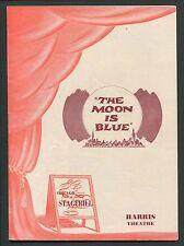 Vtg Program Chicago Stagebill Harris Theatre The Moon Is Blue Leon Ames 1951