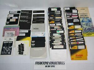 Atari Games & Utilities Lot of 120+ Floppy Disks for Atari Home Computer