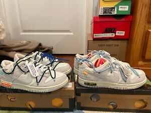 Size 8.5 - Nike Dunk Low x Off-White Lot 16 of 50 2021