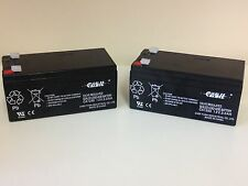 2 x 3Ah 12V Sealed Lead Acid Batteries