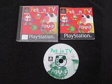 PS1 : PET IN TV - Completo ! Il tuo migliore amico ! Compatibile PS2 e PS3