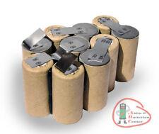 Pack batterie Atlas Copco/AEG/Milwaukee bxs12 12 V 3000 mAh Ni-MH pour l'auto-installation