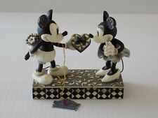 New listing Disney Traditions Mickey and Minnie Mouse Real Sweetheart 4009260 Black & White