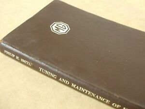 Vintage MG Book 'Tuning and Maintenance of MG's' 1953 edition  by Philip H Smith