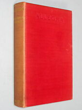 ALLEGRA The Story of Lord BYRON & Miss Clairmont - Gordon (1927 1st Ed) Romantic