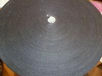 1 METER ( €2,20/m) GURTBAND, TASCHENGURT BAUMWOLLE Fb schwarz Br. ca.32 mm Nr.30