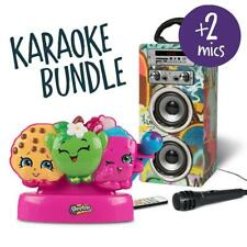 Kids Karaoke Machine Bundle Bluetooth MP3 Speaker Portable Mic FM Radio