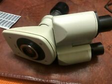 New listing Leica Trinocular Head 501500 with stand and big lens