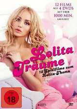 Lolita Träume (12 erotik Filme auf 4 DVDs) 1000 Min.