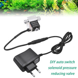 For Night Time Cut Off Aquarium Plants CO2 Magnetic Valve Solenoid Valve Use