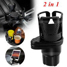 Car Cup Holder Expander Adapter 2 in 1 Multifunctional Cup Mount Extender Bottle
