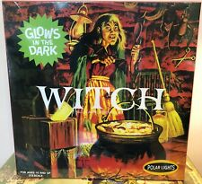 Witch Polar Lights Glows In The Dark Model Kit 1/12 Factory Sealed Square Box