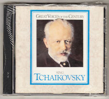 GREAT VOICES OF THE CENTURY SING TCHAIKOVSKY - 22 TRACKS - NEW & SEALED CD