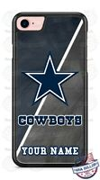 Dallas Cowboys NFL Football with Name Phone Case Cover For iPhone Samsung LG