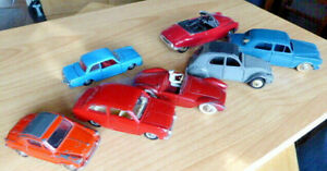Lot voitures DINKY TOYS FRANCE + autres