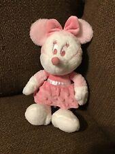 "Disney GUND My First Minnie Mouse 12"" Pink Plush Baby Stuffed Animal Soft Toy"