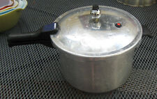 VINTAGE MIRRO-MATIC 8 QT PRESSURE COOKER CANNER  with jiggler