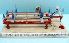 M.M.B 025 / DIORAMA GARAGE / KIT RESINE /  GABRIEL ET SON MARBRE UNIVERSEL 1/43