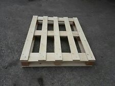 NUOVO Bancale in legno 100x80 Pedana Pallet  modello con perimetro base
