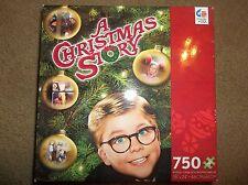 "A Christmas Story Movie Jigsaw Puzzle 750 Pieces Sealed Ralphie Tree ""BRAND NEW"""