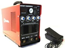 50A PLASMA CUTTER SIMADRE 3IN1 110/220V 200A TIG ARC MMA WELDER FT PEDAL 5200DX