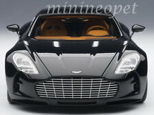 AUTOart 70241 ASTON MARTIN ONE 77 1/18 DIECAST MODEL CAR BLACK PEARL