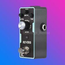 Mini ENO Reverb Guitar Effect Pedal Black True Bypass Magnalium alloy Hot S7T6
