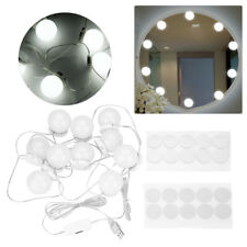 Hollywood Mirror Vanity LED Light Kit Beauty Makeup &10 bulbs, dimmer switch 10W