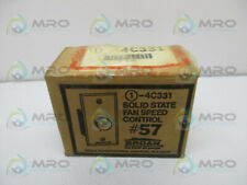 BROAN NO. 57 SOLID STATE FAN SPEED CONTROL * NEW IN BOX *