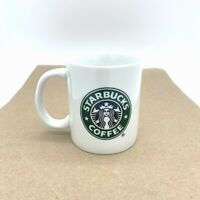 Starbucks 2006 classic 8 ounce coffee cup white traditional logo made in China
