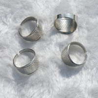 10x Thimble Sewing Quilting Metal Thimble ring simple DIY Craft Finger Protecto.