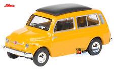 Schuco HO 1:87 #26150 - Fiat 500 Combi - Oranje
