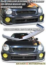 Pro-D Style Front Lip (Urethane) Fits 02-03 Subaru Impreza WRX