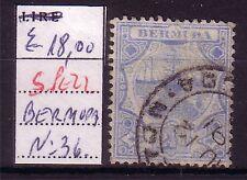 BERMUDA  ;  USATO - USED  ;  YVERT  36  ;   2 1/2 D ; A27