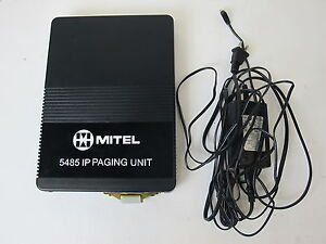 Mitel 5485 IP Paging Unit with Power Supply 50001754