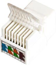 White Cat6 keystone jack UTP Tooless Type Ethernet Wall Jack Plug CN-KD-KJ6-10