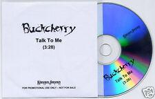 BUCKCHERRY Talk To Me UK 1-track promo test press CD