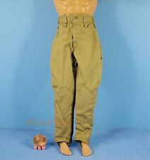 1:6 Action Figure WW2 German Africa Corps Army Pants Trousers Toy Model OK006