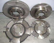 VW BORA FRONT AND REAR BRAKE DISCS & PADS 1.4 1.6, 2.0 & 1.9 - NEW COATED DESIGN
