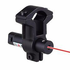Mini Pistola Arma de alcance láser roja vista Anillo de tubo de barril ajustable de montaje alcance