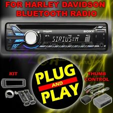 FOR 98-13 HARLEY DAVIDSON TOURING PLUG & PLAY SONY CDX-GT570UP RADIO STEREO KIT