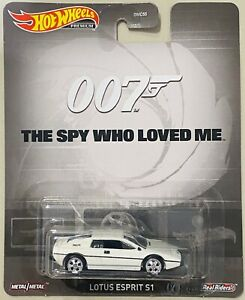 Hot Wheels Lotus Esprit The Spy Who Loved Me 007 Series (New Release) SALE