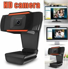 HD Webcam PC Mac Laptop Desktop Web Camera W/ Microphone For Xbox YouTube Skype