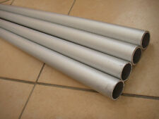 ( Lot de 2 ) Tube Aluminium Ø 25mm ( Longueur 98cm + 95cm ) Epaisseur 1.5mm
