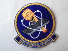 PATCH US NAVY USS ROOSEVELT / MARINE USA
