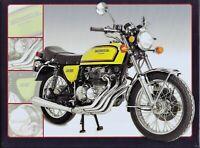 PLAQUE métal moto vintage HONDA 400 FOUR  - 40 x 30 cm